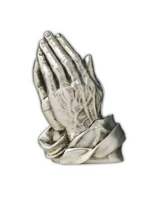 Praying Hands Silver Attachment